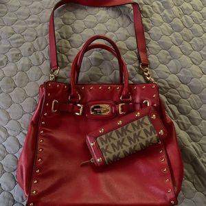 Michael Kors Handbag/Wallet Set
